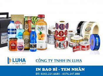 In Tem Cuộn – In Nhãn Cuộn - In Tem Decal Cuộn Giá Rẻ Nhất tại Hà Nội